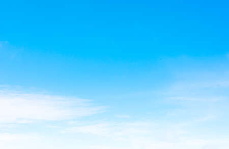 clear skies: image of clear sky on day time . Stock Photo
