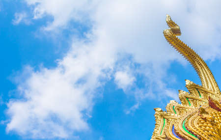 image of Thailand art and sky . photo