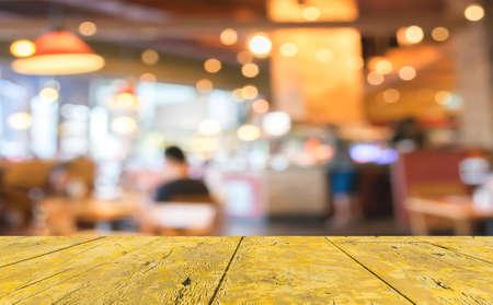 Coffee shop sfocatura sfondo bokeh con immagine. Archivio Fotografico - 34163068