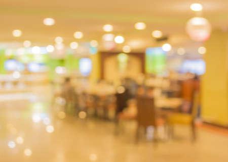 image of Bokeh at  large restaurant .