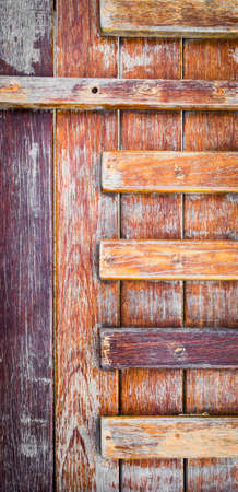 duckboards: image of old wooden wall background . Stock Photo