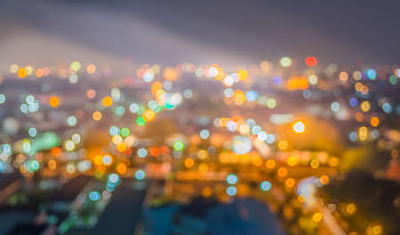 lighhts: blur lighhts from Chiang Mai, Thailand for background usage.