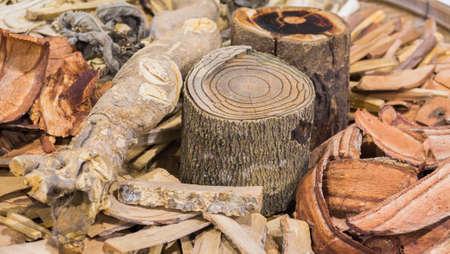 pestel: image of Thailand Dried Herbal Medicine.