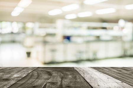 industria quimica: imagen del antiguo laboratorio difuminar para el uso del fondo.