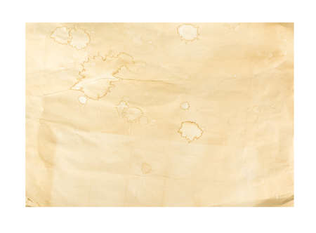 white textured paper: textured paper sheet. Old paper texture  Isolated on white background.