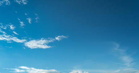 cumuli: image of clear blue sky on day time for background usage(horizontal).
