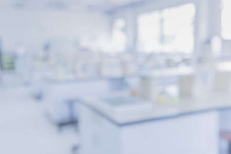 blur image of modern laboratory for pharmacy background usage . Reklamní fotografie