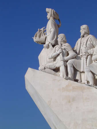 Monument to the Discoveries in Belem part of the Lisbon, Portugal                                Stock Photo - 2563243