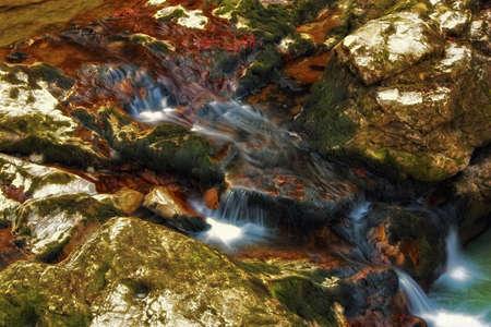 Peaceful waterfall Stock Photo - 2586463
