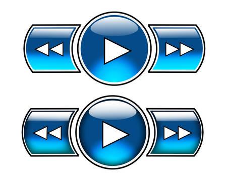 fast forward: Nizza blu lucida pulsanti tra cui giocare, avanti veloce e indietro veloce. Primi tre possono essere usati come normali pulsanti e inferiore tre liste su come pulsanti. Pu� aggiungere fermata, pausa e aprire al pi� presto.
