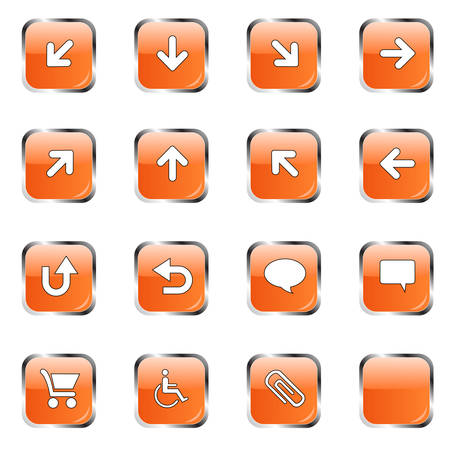 Web icon collection  Vector