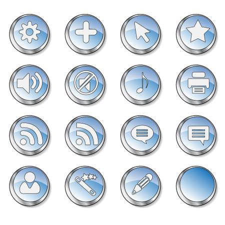 Web icon set  photo