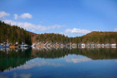 Beautiful lake in the Alps Stock Photo - 2792778