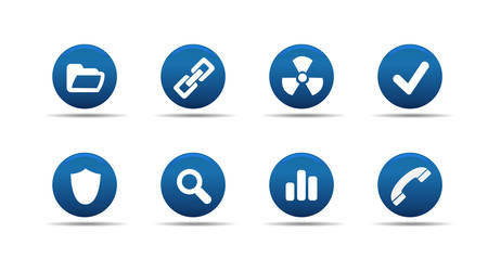 Web icon set | Aloha series Vector