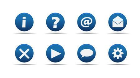 Web icons | Aloha series Stock Vector - 2838705