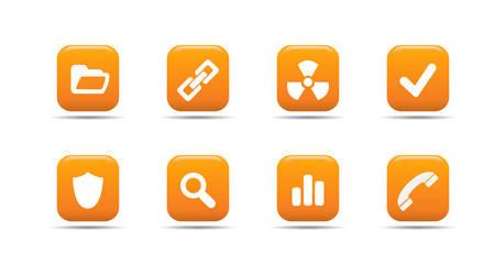 Web icon set 2 | Apricot series Stock Vector - 2848497