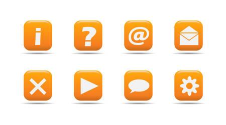 Web icon set 3 | Apricot series Vector