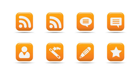 Web icon set 7 | Apricot series Illustration