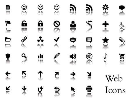 urne: Una grande raccolta di icone web. Potete trovare i pulsanti da queste icone nel mio portafoglio.