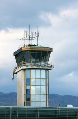 Airport control tower in Ljubljana Stock Photo - 3077441