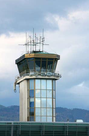 Airport control tower in Ljubljana Stock Photo - 3077441