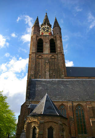 Picture of the Delft church in Holland Stock Photo - 3123266