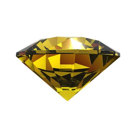 precious stones: Realistically looking 3d render of a diamond.