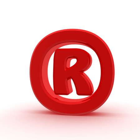 registered: Red registered sign
