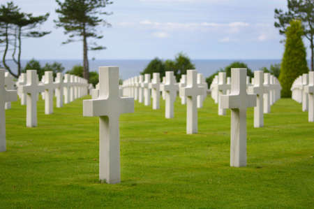 American cemetery in Normandy Stock Photo - 5957393