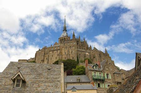 Beautiful Abbey of Mont Saint Michel Stock Photo - 5957372