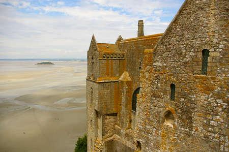 Beautiful Abbey of Mont Saint Michel Stock Photo - 5957375