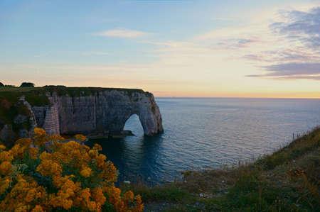 Famous cliffs of Etretat, Normandy, France. Stock Photo - 6238121