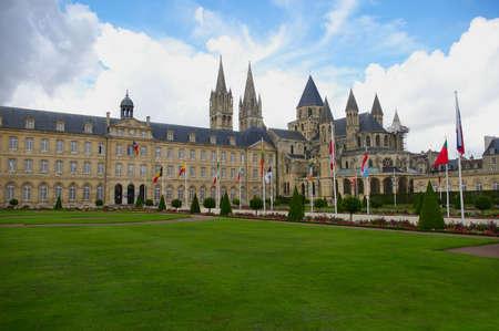 abbaye: Abbaye aux Dames - Caen monastery Stock Photo