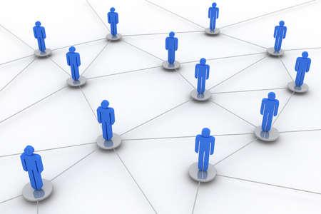 Imagen de concepto que representa a la red, redes, conexión, redes sociales, www...