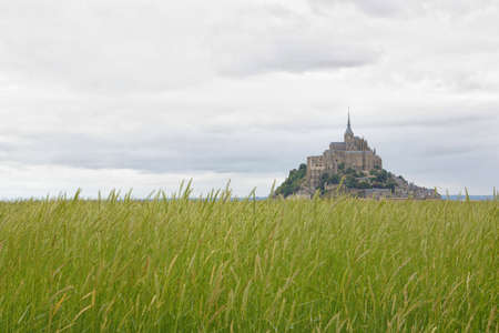 Beautiful Abbey of Mont Saint Michel. Stock Photo - 6291788