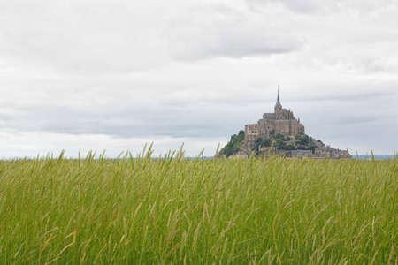 Beautiful Abbey of Mont Saint Michel. Stock Photo - 6291788