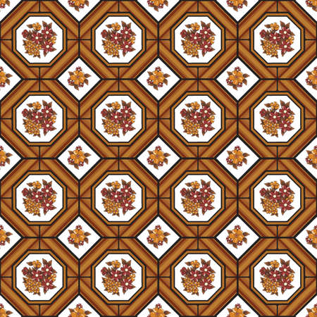 Abstract vector background texture linoleum composite covering pattern.
