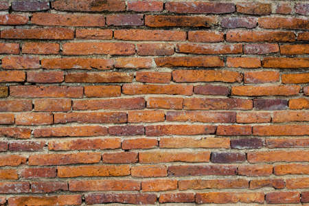 Background of old brick wall texture Stock Photo