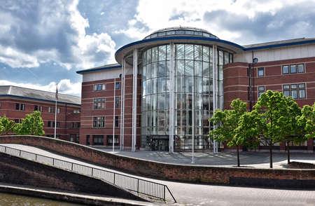 magistrates: NOTTINGHAM, UK - June 1, 2017: Nottingham Magistrates Court is a Magistrates Court in Nottingham, England, United Kingdom.