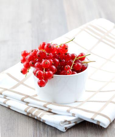 dishtowel: currant in bowl on dishtowel