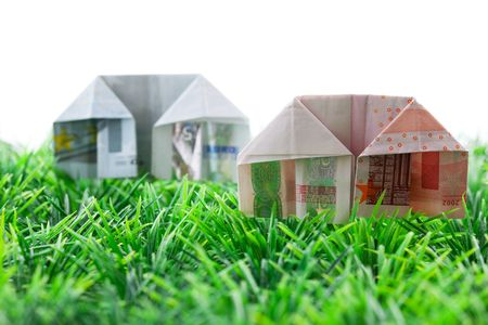 financing: symbol picture for house financing  Stock Photo