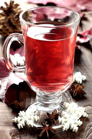 mulled wine: fresh mulled wine for christmas