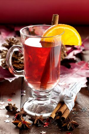 mulled: fresh mulled wine for christmas