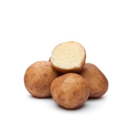 marzipan balls isolated on white background  photo