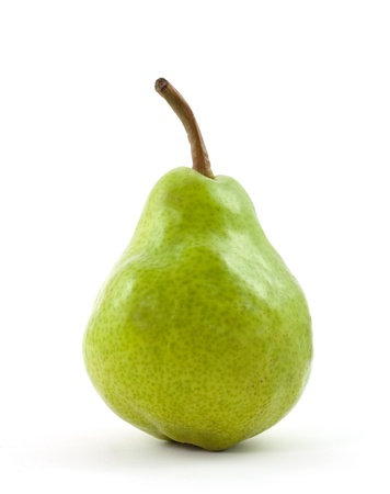 pera: pera aislada sobre fondo blanco