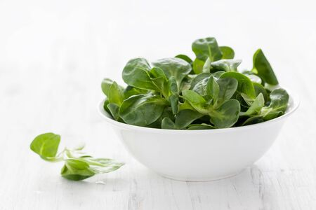 fresh corn salad in a bowl
