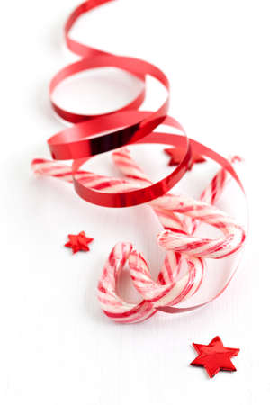 nibbles: red white candy canes for christmas