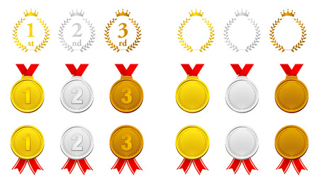 Ranking and Medal illustration