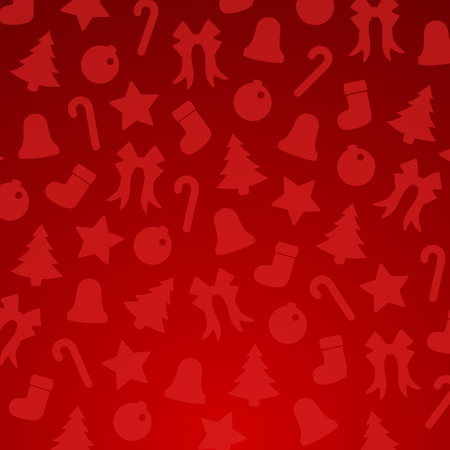 Christmas Background Material Illustration