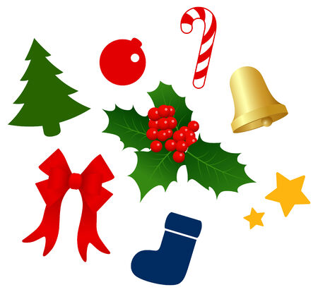 Christmas tree decoration Imagens - 31464041